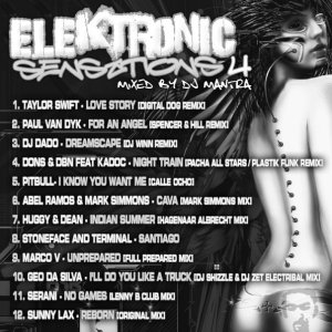 ELEKTRONIC SENSATIONS 4 Mixed By Dj Mantra
