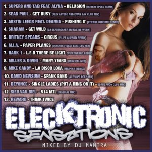 ELEKTRONIC SENSATIONS Mixed by Dj Mantra