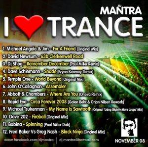 I Love Trance [November 2008]