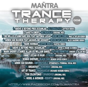 TRANCE THERAPY 2 Mixed by DJ MANTRA