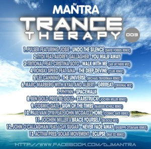 TRANCE THERAPY 3 Mixed By Dj Mantra
